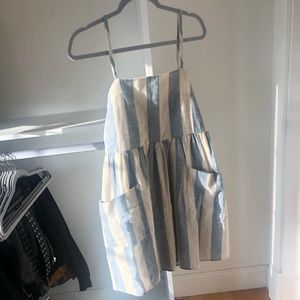 BP. Striped dress